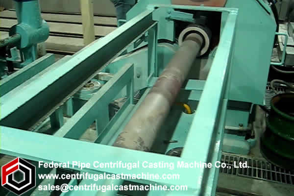 Horizontal Centrifugal Casting Machine 4