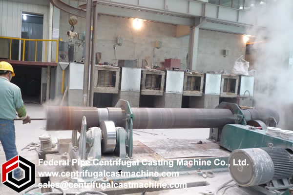 Horizontal Centrifugal Casting Machine 5