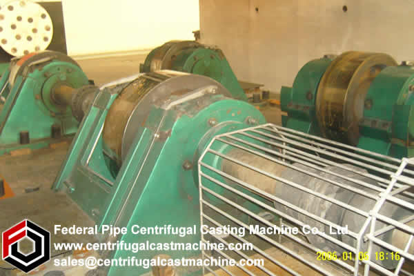 Horizontal Centrifugal Casting Machine 6