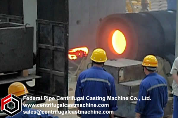 Horizontal Duplexed Mill Roll Centrifugal Casting Machine