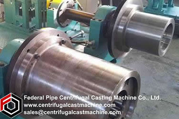 Cantilever Centrifugal Casting Machine