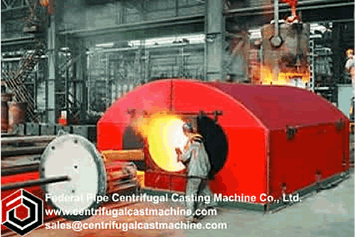 Roll Shell Horizontal Centrifugal Casting 1