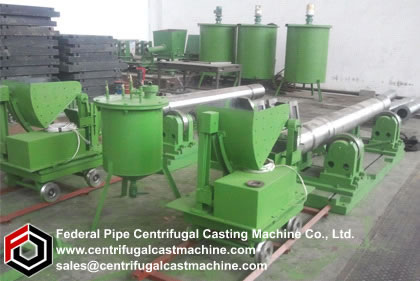 3-meter Iron Pipe Centrifugal Casting Machines