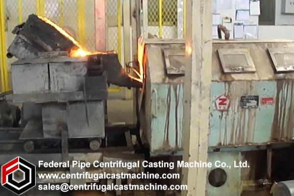 Piston Ring & Bearing Bush Centrifugal Casting Machine