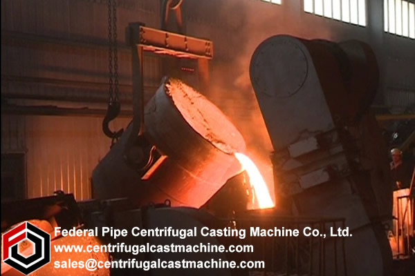 Iron Pipe Multi Station Centrifugal Casting Machine
