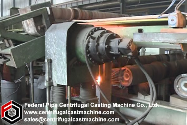 Iron Pipe Multi Station Centrifugal Casting Machine 1