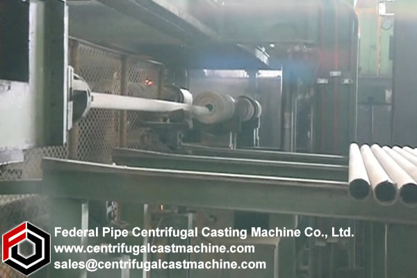 Iron Pipe Multi Station Centrifugal Casting Machine 2