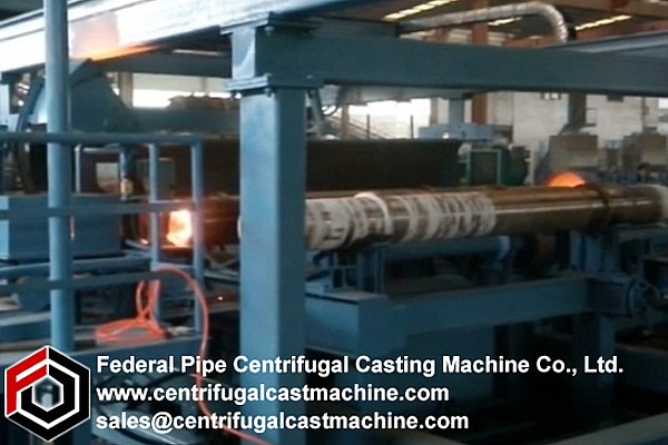 Multi Station Iron Pipe Centrifugal Casting Machine 3