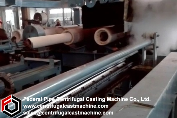 Multi Station Iron Pipe Centrifugal Casting Machine 6