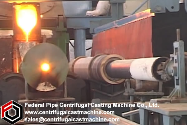 Multi Station Iron Pipe Centrifugal Casting Machine13