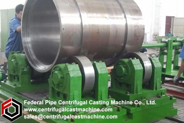Horizontal Cylinder Liner Centrifugal Casting Machine