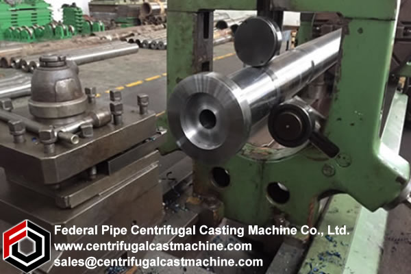 Grey Iron Pipe Centrifugal Casting Mold Machining 1