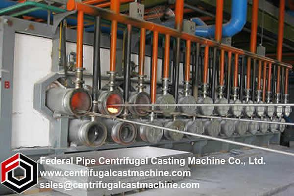 Horizontal Magnesium Metal Reduction Furnace 1