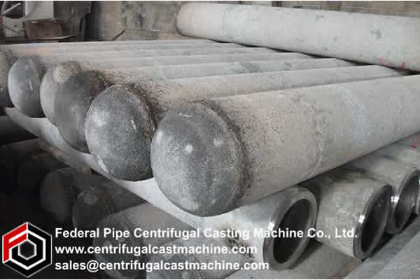 Horizontal Magnesium Metal Reduction Retort 2
