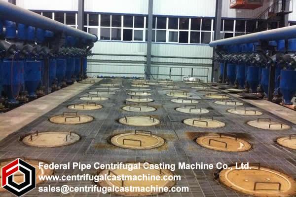 Vertical Magnesium Metal Reduction Furnace