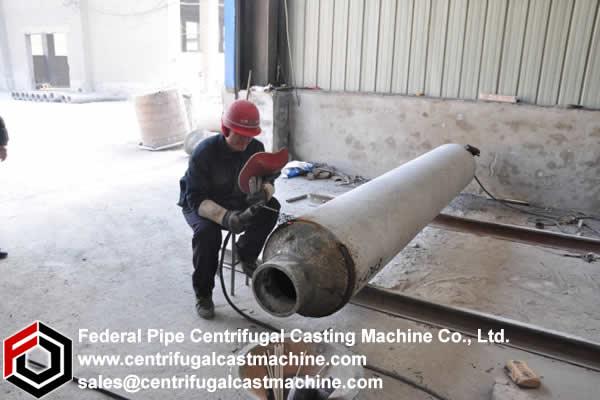 Vertical Retort Funnel Welding