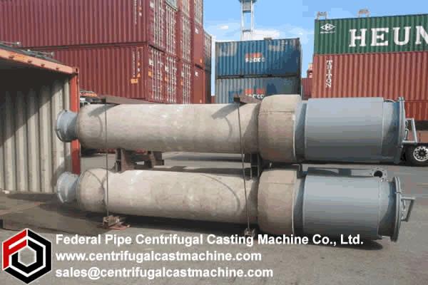 Vertical Magnesium Metal Reduction Retort 3