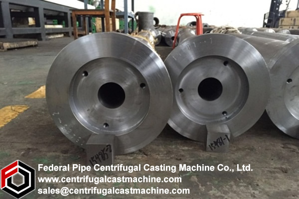 Grey Iron Pipe Centrifugal Casting Mold 61