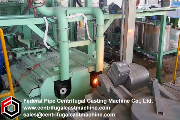 Evaluation of an improved centrifugal casting machines