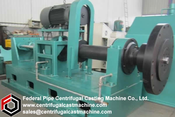 Another object of the present invention is to provide an improved centrifugal casting machine.
