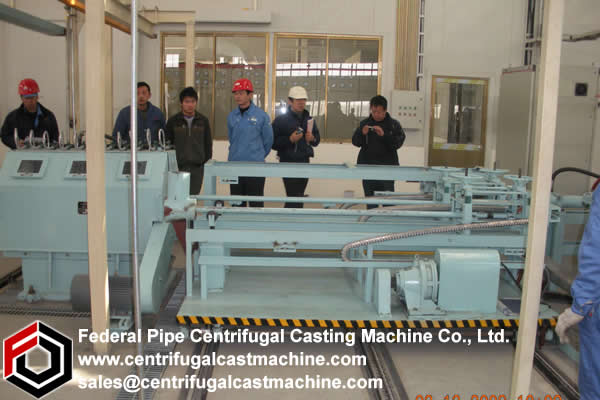 Horizontal Centrifugal Casting Machine 1