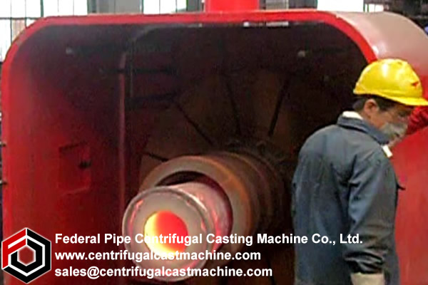 centrifugal casting machine tube