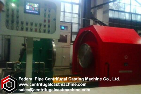Centrifugal casting machine according