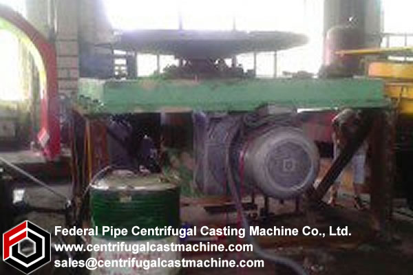 The main part of the electrical control part of the centrifugal casting machine