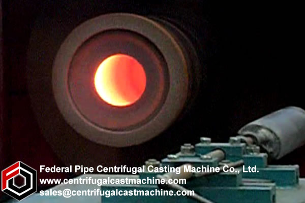Centrifugal casting machine performance characteristics
