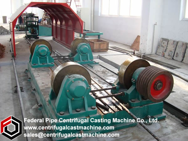 Horizontal Centrifugal Casting Machine 2