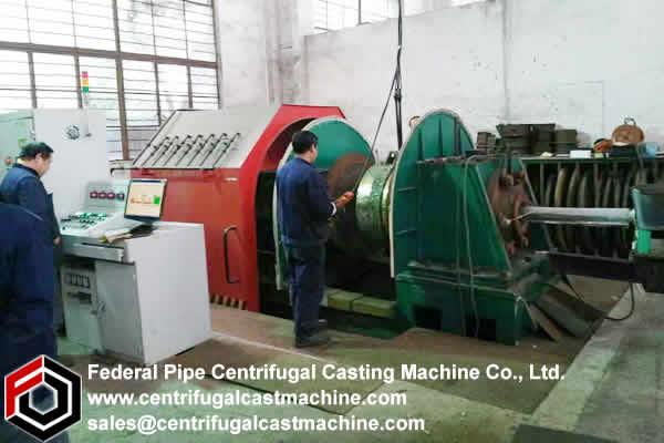 Centrifugal Babbitt Lining Machine 4