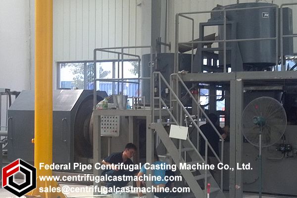 Centrifugal Babbitt Lining Machine 3