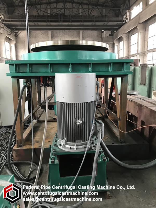 Manual vacuum centrifugal casting machine