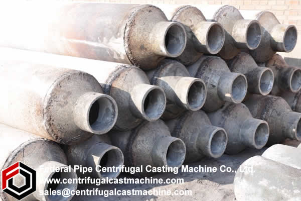 Centrifugal casting remained a casting method for large  objects