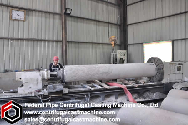 Centrifugal Casting Machine for Concrete Electric Pole