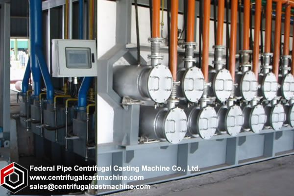 Grey Iron Pipe Centrifugal Casting Machine