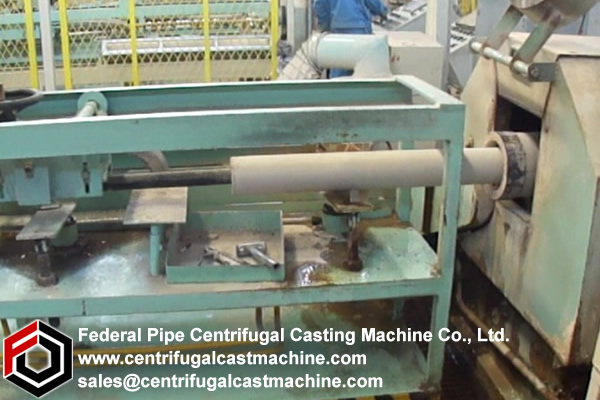 molds for centrifugal casting  should  be maintained in the operating range