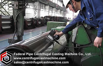 Centrifugal casting as it is  now  done