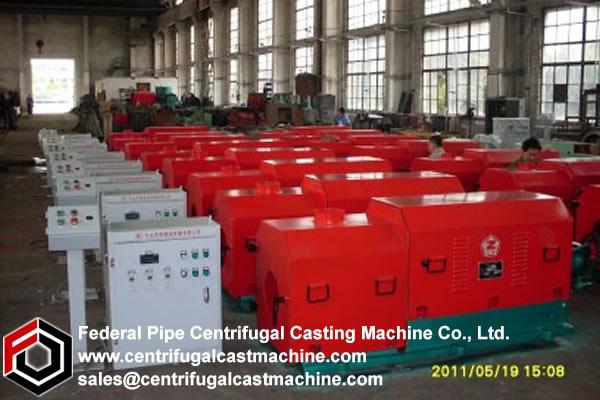 Cantilever/shaft Centrifugal Casting Machine 9