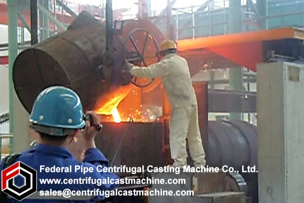 Duplexed Mill Roll centrifugal casting Machines