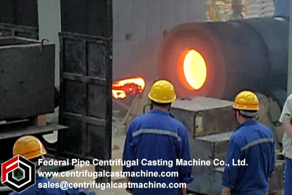 Roll Shell  Horizontal Centrifugal Casting