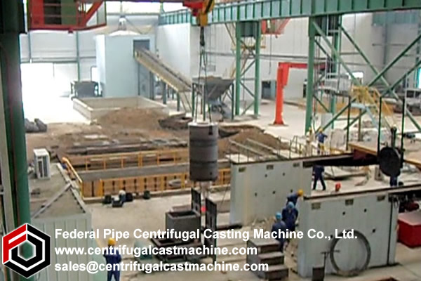 Roll Core Vertical Static Casting