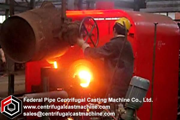 Cantilever/shaft Centrifugal Casting Machine 10