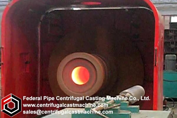 Cantilever/shaft Centrifugal Casting Machine 12